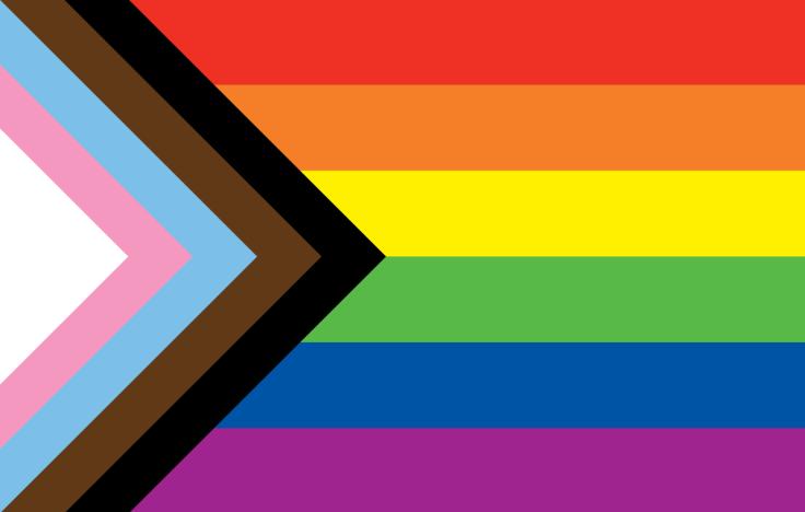 Pride Flag. Design by Daniel Quasar.